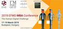 2019 EFMD MBA Conference – The Human Digital Challenge