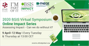 2020 BSIS Virtual Symposium: Online Impact Series