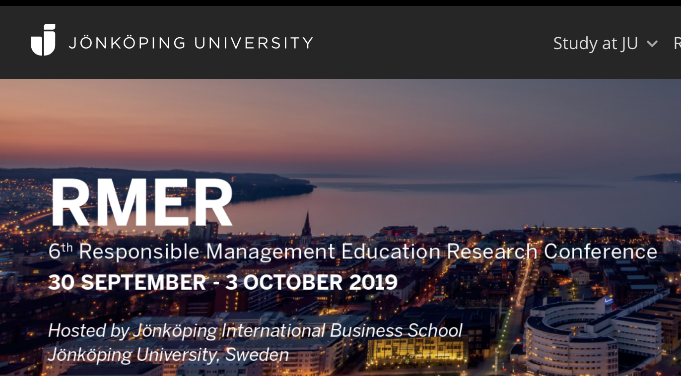 6th Responsible Management Education Research Conference