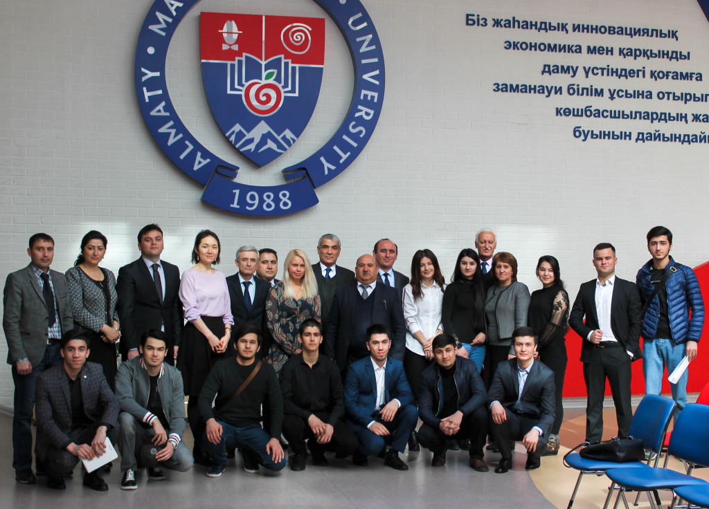 Almaty Management University (AlmaU) impact for Central Asia Higher Education system.