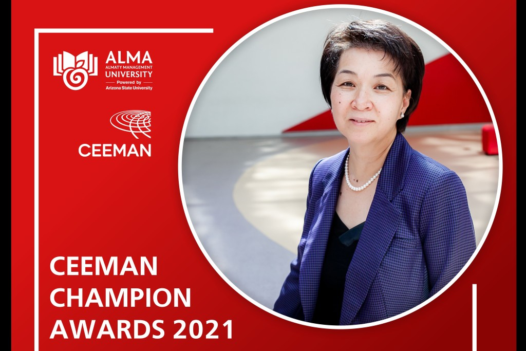 AlmaU once again gets recognized with CEEMAN Champions Award!