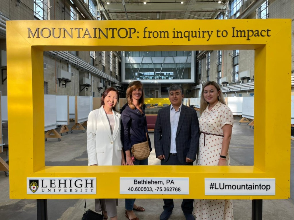 AlmaU's active collaboration with Lehigh University, USA goes to the next level