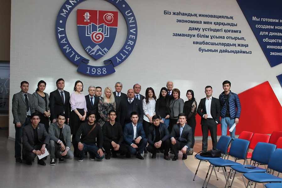 AlmaU's project on the quality management system in partnership with a university in Tajikistan has been successfully completed