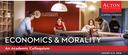 "An academic colloquium "" Economics and Morality"" at LCC"