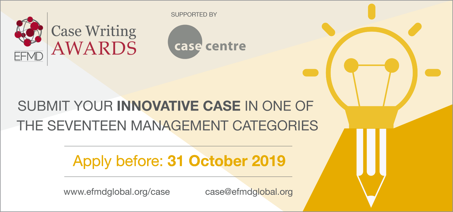 Case Writing Competition 2019 – Call for submissions!