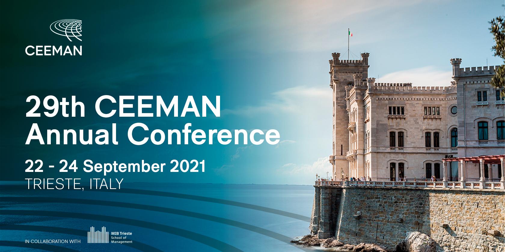 CEEMAN Annual Conference in Trieste Was a Big Success