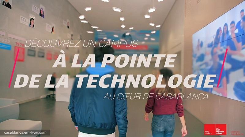 Discover emlyon business school Casablanca campus