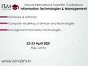 INFORMATION TECHNOLOGIES AND MANAGEMENT 2021