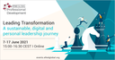 Leading Transformation: A sustainable, digital and personal leadership journey