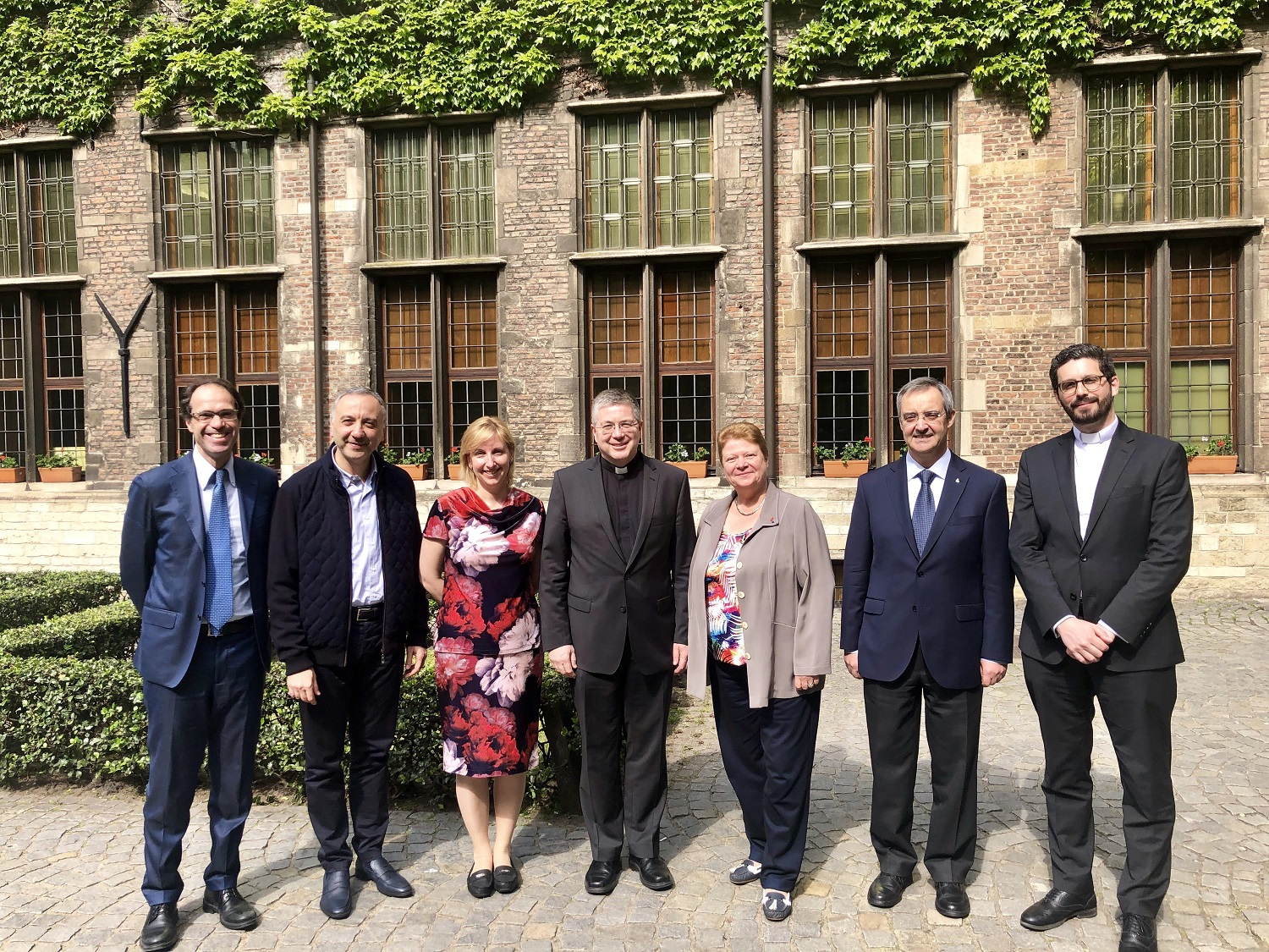 LvBS Founding Dean elected to Board of Directors of the Federation of European Catholic Universities