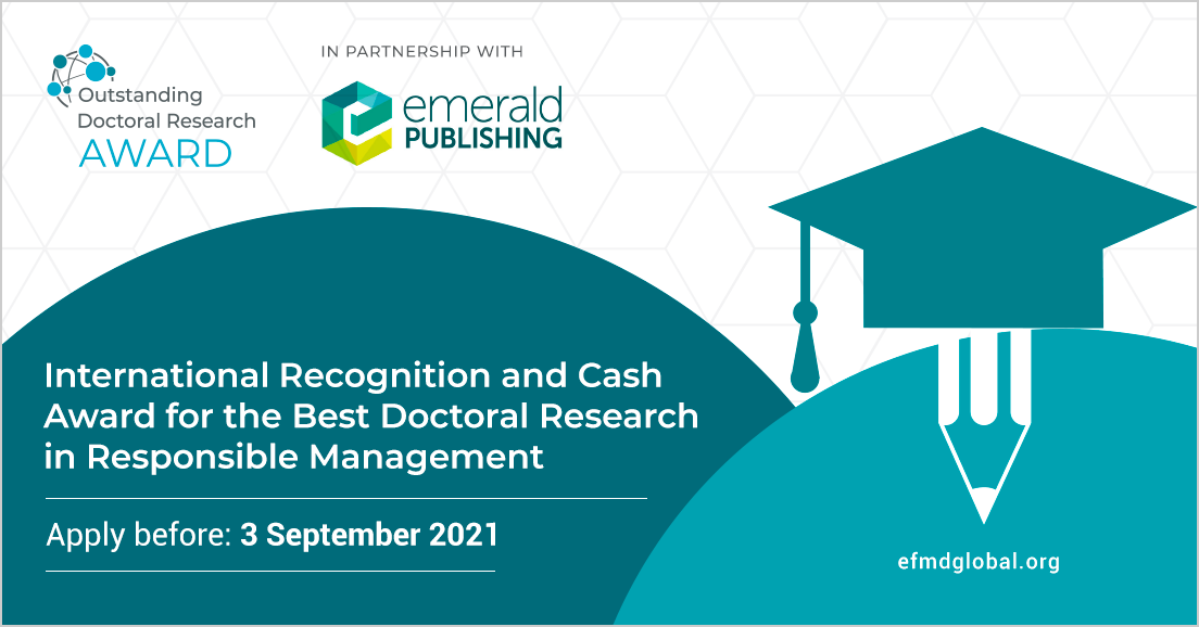 Outstanding Doctoral Research Award (ODRA)