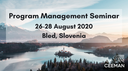 Program Management Seminar rescheduled to August 2020