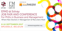 Save the Date - EFMD@Solvay Job Fair and Conference