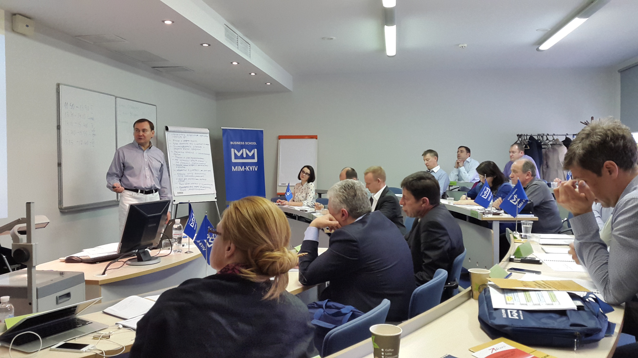 Start of New Change management Program for Business executives in Kiev