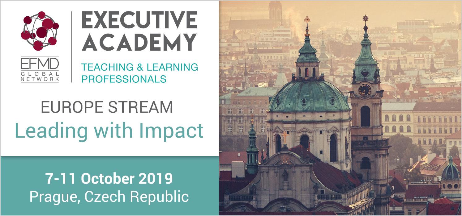 The Executive Academy - Europe Stream