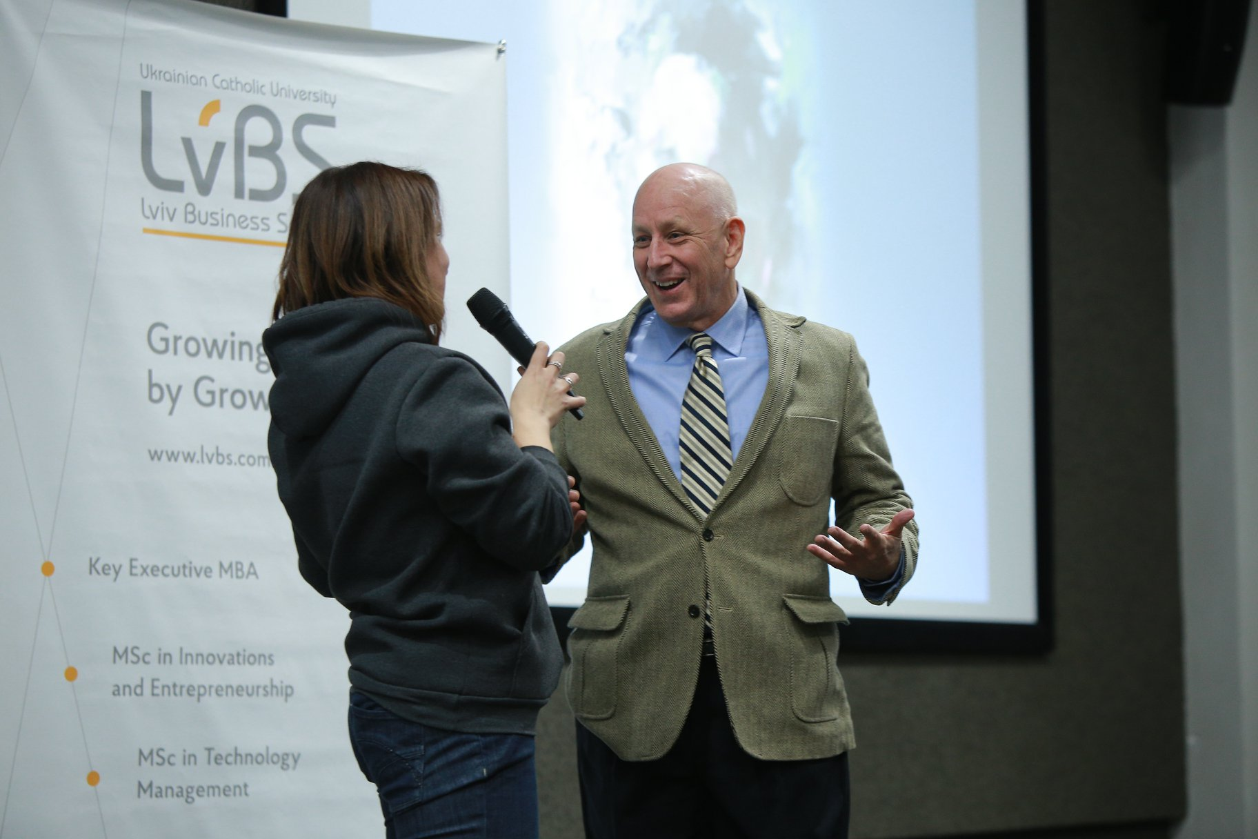 World expert in Leadership Dean Williams in Lviv Business School