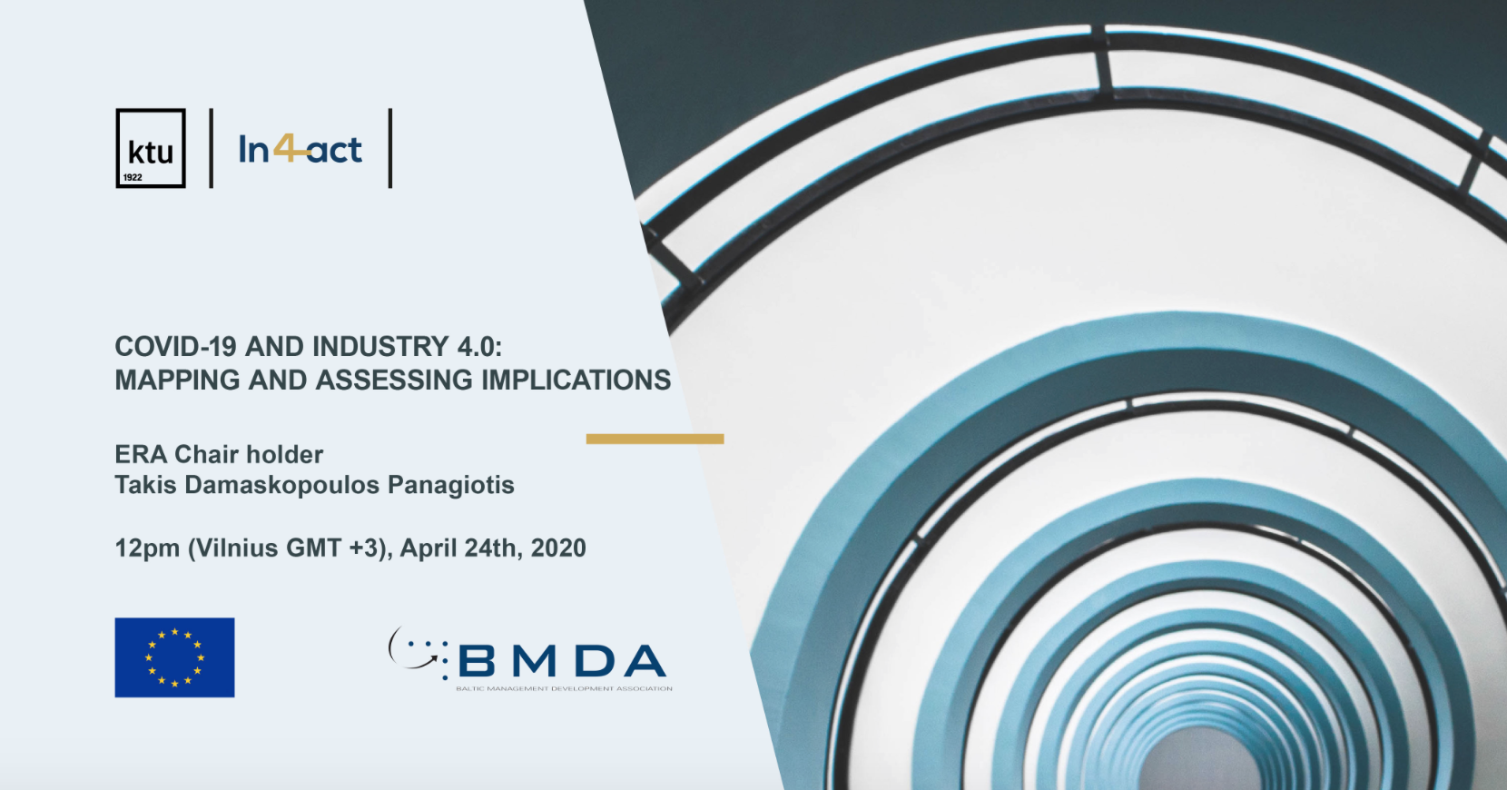 Already the fourth webinar of BMDA webinar series has been implemented