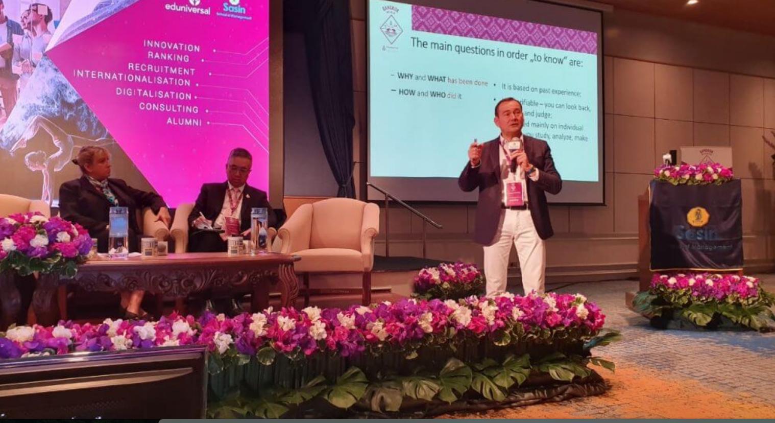 BMDA President at Eduniversal World Convention