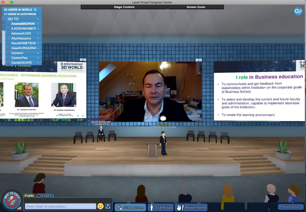 BMDA President at Eduniversal World Convention 2020