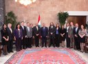 BMDA President was met by the President of Lebanon