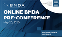 Bulletpoints of BMDA pre-conference
