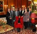 Dr. Virginijus Kundrotas met Ambassador of South Africa